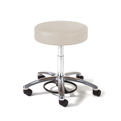 Physician Exam Stool Foot Control and Aluminum Base