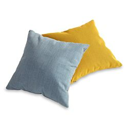 """Square Fabric Accent Pillow - 15.75""""W"""