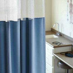 """Solid Print Privacy Curtain- 102""""W x 86""""H"""