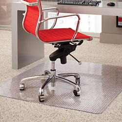 "Crystal Clear Chair Mat for Carpets 36""W x 48""D"