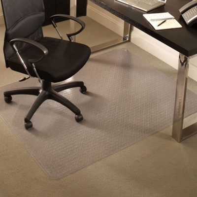 "Standard 36"" x 48"" Chair Mat for Carpet"