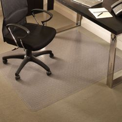 "Premium 46"" x 60"" Chair Mat for Carpet"