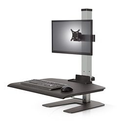 "Single Monitor - 24""W Work Surface"