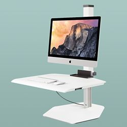 "Single iMac VESA Compliant Station - 30""W Work Surface"