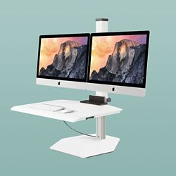 "Dual iMac VESA Compliant Station - 30""W Work Surface"