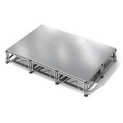 Aluminum Stage Set 96 Sq Ft