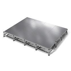"All Terrain Aluminum Stage Set - 12'W x 16""D"