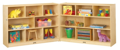 Children's Super-Size Mobile Folding Storage Unit