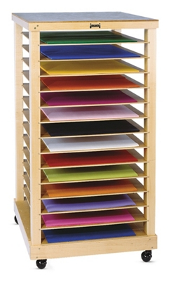Children's Mobile Drying or Paper Storage Rack