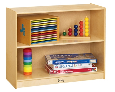 Children's Straight Shelf Storage
