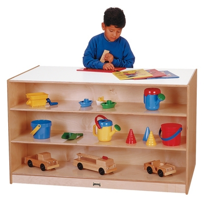 Children's Storage Island Without Trays