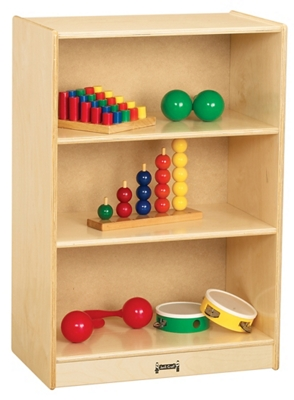 Children's Small Mobile Straight Shelf Storage