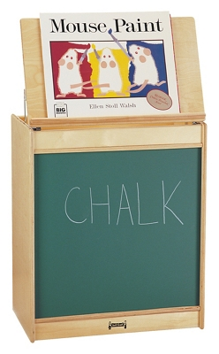 Children's Big Book Easel with Chalkboard
