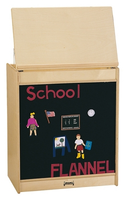 Children's Big Book Easel with Flannel Board