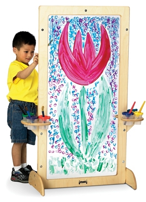 Children's See-Through Acrylic Easel