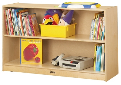 Children's Low Straight Shelf Storage