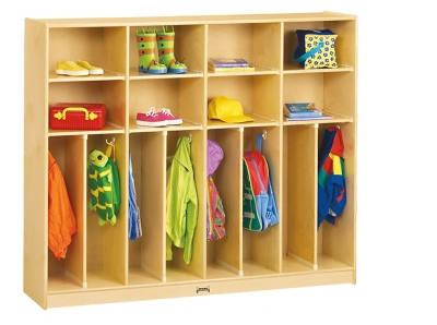 Children's Large Neat and Trim 4 Section Locker