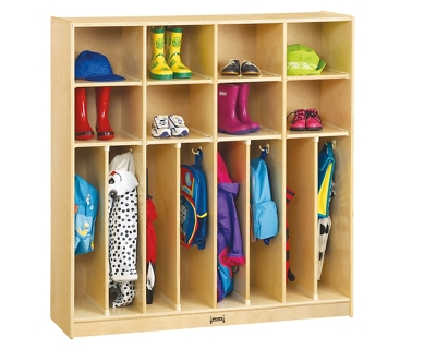Children's Neat and Trim 4 Section Locker