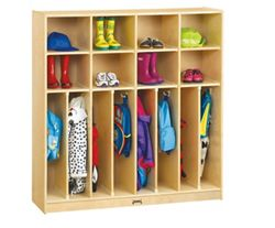 Children's Neat and Trim 4 Section Locker