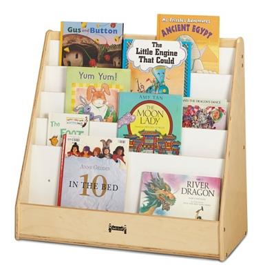 "Children's 27.5"" H Five Shelf Book Display Stand"