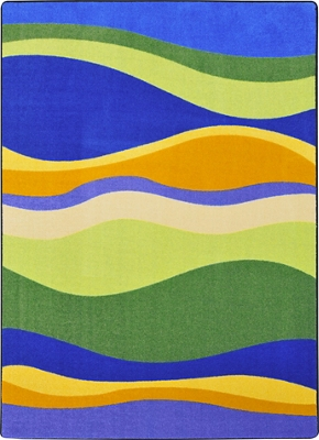 "Riding Waves Area Rug - 5'4"" x 7'8"""