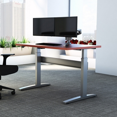 "Electric Height Adjustable Desk - 60""W x 24""D"