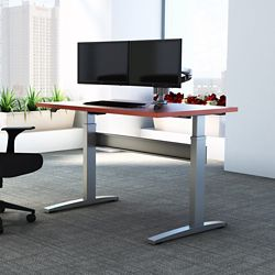 """Electric Height Adjustable Desk - 48""""W x 24""""D"""