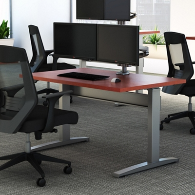 "Electric Height Adjustable Desk - 72""W x 30""D"