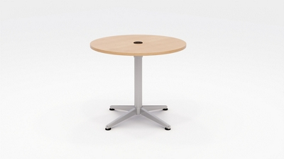 "Workwell Round Media Table - 36"" Diameter"