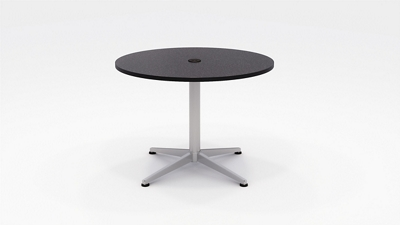 "Workwell Round Media Table - 42"" Diameter"