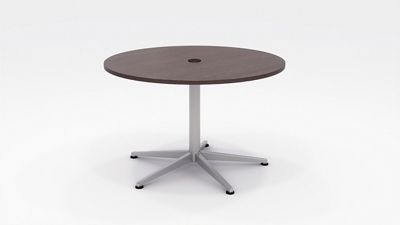 "Workwell Round Media Table - 48"" Diameter"