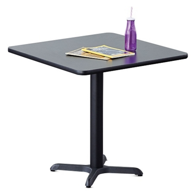 "30""W  Square X-Base Breakroom Table"