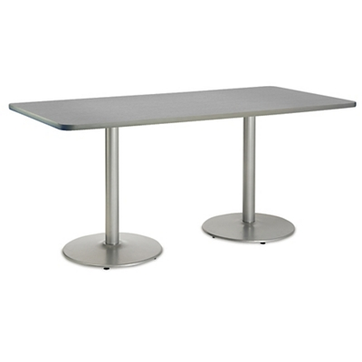"Figo Cafe Height Table - 72""W x 30""D"