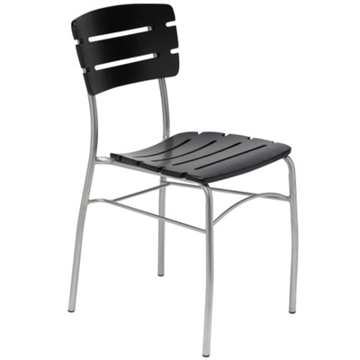 Slatted Wood Breakroom Chair