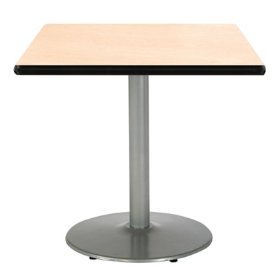 "Square Table with Silver Base - 30""W x 30""D"