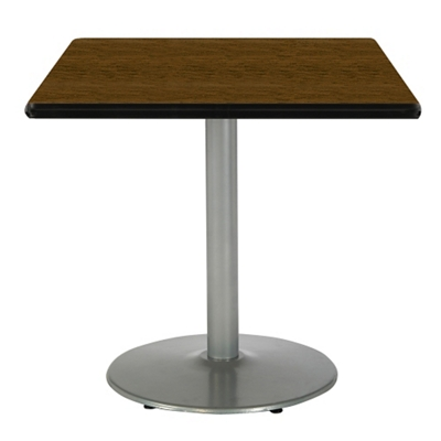 """Square Table with Silver Base - 36""""W x 36""""D"""