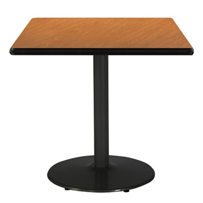 """Square Table with Black Base - 42""""W x 42""""D"""