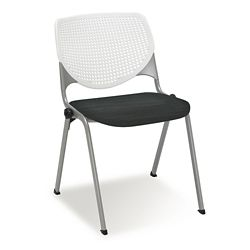 Figo Stack Chair with Fabric or Polyurethane Seat
