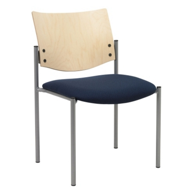 Armless Stackable Guest Chair