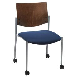 Armless Mobile Guest Chair