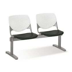 Figo Beam Seating with Two Polypropylene Seats
