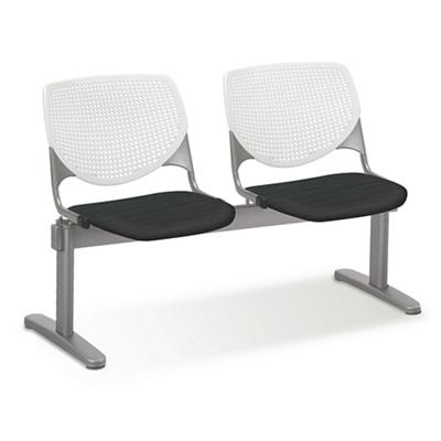 Figo Beam Seating with Two Fabric or Polyurethane Seats