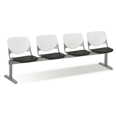 Figo Beam Seating with Four Polypropylene Seats