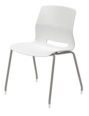 Imme Armless Poly Stack Chair