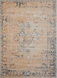 "kathy ireland by Nourison Bordered Vintage Area Rug 3'11""W x 5'7""D"