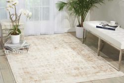 kathy ireland by Nourison Bordered Vine Area Rug 8'W x 11'D