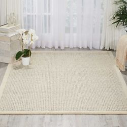 "kathy ireland by Nourison Bordered Area Rug 7'9""W x 9'9""D"