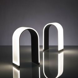 Arch Shaped LED Table Lamp - Warm Tone Light