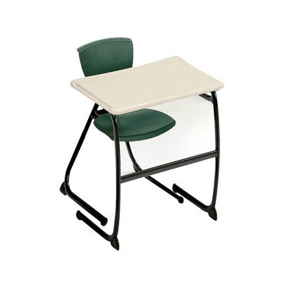 "Student Desk with Cantilever Base - 30"" H"