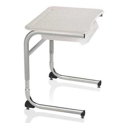 Adjustable Height Cantilever Hard Top Desk